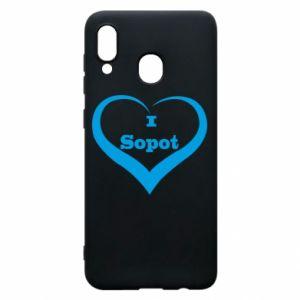 Etui na Samsung A30 I love Sopot - PrintSalon
