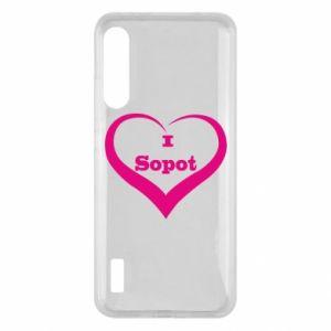 Xiaomi Mi A3 Case I love Sopot