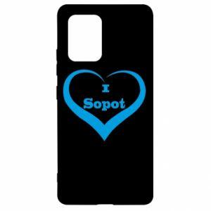 Samsung S10 Lite Case I love Sopot