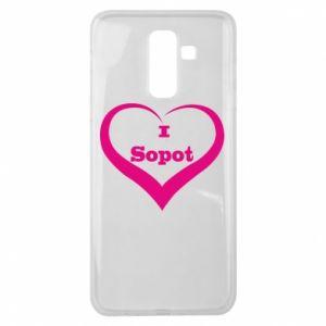Samsung J8 2018 Case I love Sopot