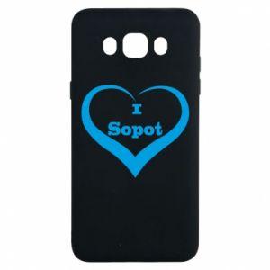 Samsung J7 2016 Case I love Sopot