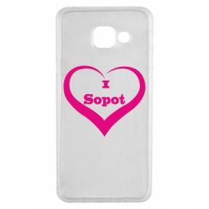 Samsung A3 2016 Case I love Sopot
