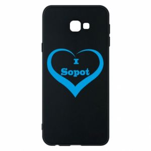 Samsung J4 Plus 2018 Case I love Sopot