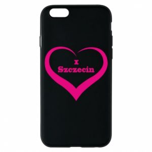 Phone case for iPhone 6/6S I love Szczecin