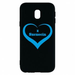 Phone case for Samsung J3 2017 I love Szczecin