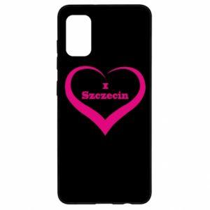 Samsung A41 Case I love Szczecin