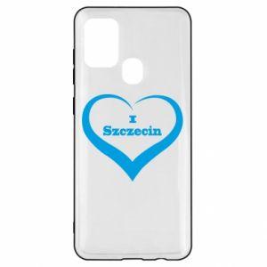 Samsung A21s Case I love Szczecin