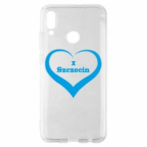 Huawei P Smart 2019 Case I love Szczecin