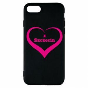 iPhone SE 2020 Case I love Szczecin