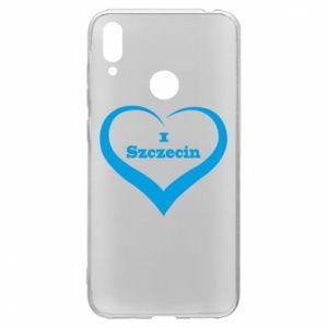 Huawei Y7 2019 Case I love Szczecin