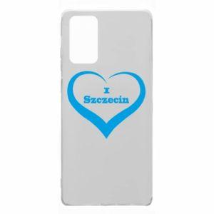 Samsung Note 20 Case I love Szczecin