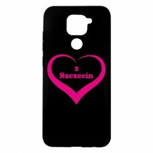 Xiaomi Redmi Note 9 / Redmi 10X case % print% I love Szczecin
