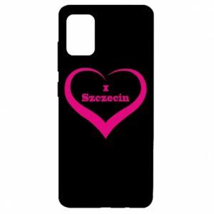 Samsung A51 Case I love Szczecin
