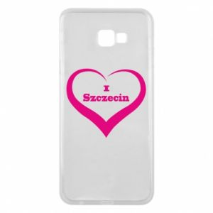 Phone case for Samsung J4 Plus 2018 I love Szczecin