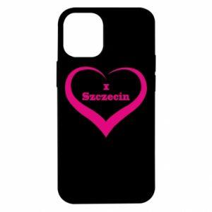 iPhone 12 Mini Case I love Szczecin