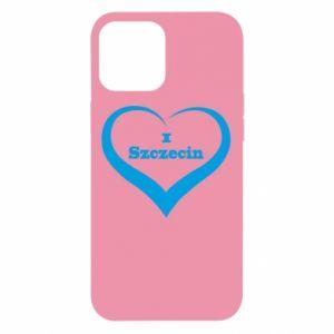 iPhone 12 Pro Max Case I love Szczecin