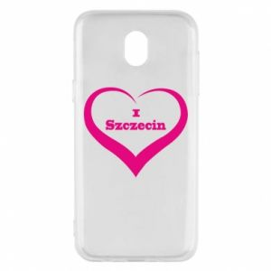 Phone case for Samsung J5 2017 I love Szczecin