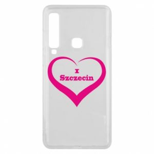 Phone case for Samsung A9 2018 I love Szczecin