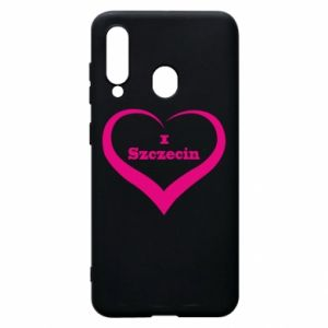 Phone case for Samsung A60 I love Szczecin