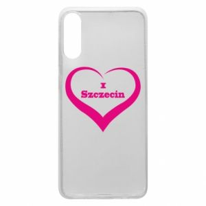 Phone case for Samsung A70 I love Szczecin