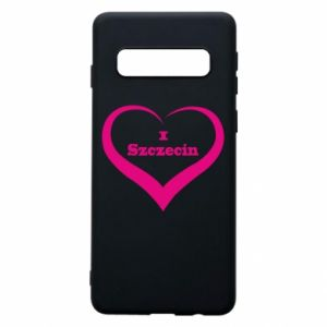 Phone case for Samsung S10 I love Szczecin