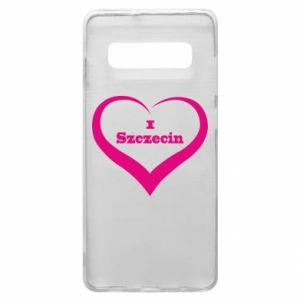 Phone case for Samsung S10+ I love Szczecin