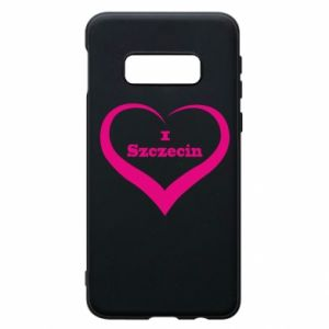 Phone case for Samsung S10e I love Szczecin