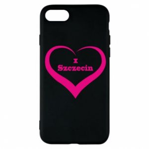 Phone case for iPhone 7 I love Szczecin