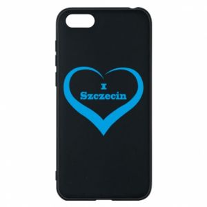 Phone case for Huawei Y5 2018 I love Szczecin