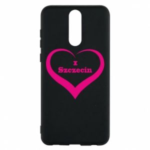 Phone case for Huawei Mate 10 Lite I love Szczecin