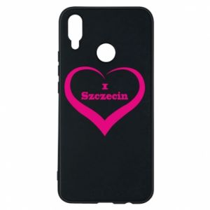 Phone case for Huawei P Smart Plus I love Szczecin
