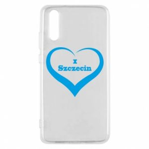 Phone case for Huawei P20 I love Szczecin