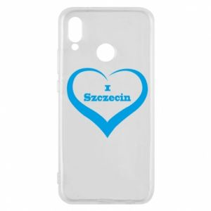Phone case for Huawei P20 Lite I love Szczecin