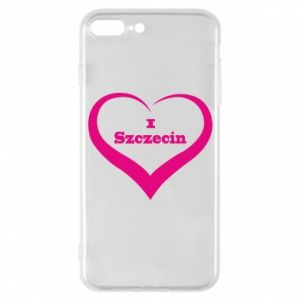 Phone case for iPhone 7 Plus I love Szczecin