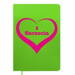 Notepad I love Szczecin