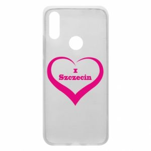 Phone case for Xiaomi Redmi 7 I love Szczecin