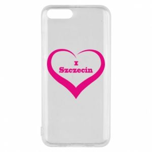 Phone case for Xiaomi Mi6 I love Szczecin
