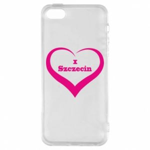 Phone case for iPhone 5/5S/SE I love Szczecin