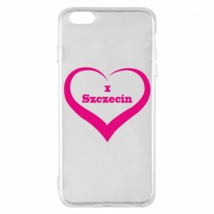Phone case for iPhone 6 Plus/6S Plus I love Szczecin