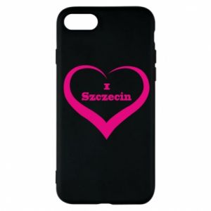 Phone case for iPhone 8 I love Szczecin