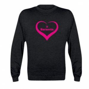 Kid's sweatshirt I love Szczecin