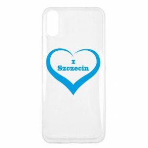 Xiaomi Redmi 9a Case I love Szczecin