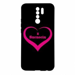 Xiaomi Redmi 9 Case I love Szczecin
