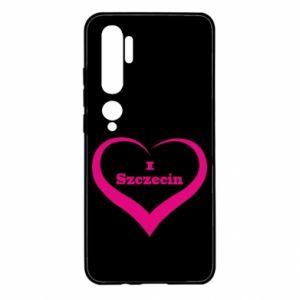 Xiaomi Mi Note 10 Case I love Szczecin