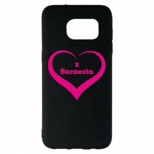 Samsung S7 EDGE Case I love Szczecin