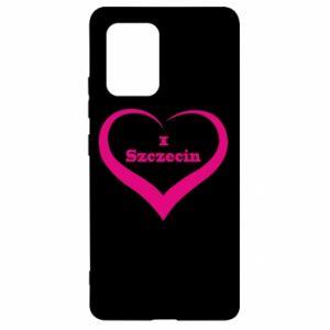 Samsung S10 Lite Case I love Szczecin