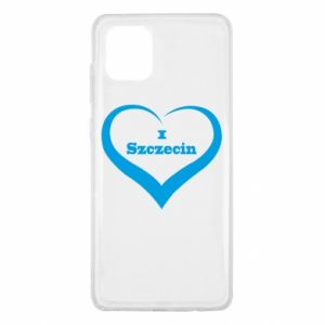 Samsung Note 10 Lite Case I love Szczecin