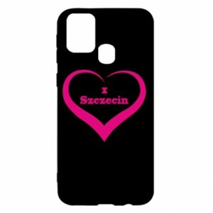 Samsung M31 Case I love Szczecin