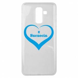 Samsung J8 2018 Case I love Szczecin