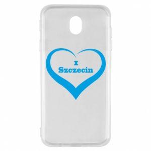 Samsung J7 2017 Case I love Szczecin